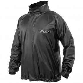 Jaqueta de Chuva Delta Flex PVC Motociclista Motoboy Motoqueiro