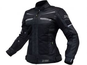 Jaqueta X11 Breeze Feminina Impermeável Motociclista Com Proteções