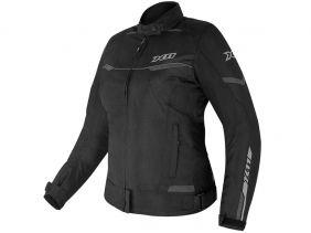 Jaqueta X11 Guard 2 Com Proteção Feminina Preta Motociclista