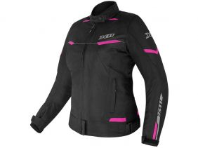 Jaqueta X11 Guard 2 Com Proteção Feminina Rosa Motociclista