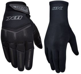Kit Luva X11 Fit X Touchscreen + Luva X11 Thermic Segunda Pele Motociclista