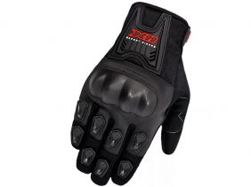 Luva X11 Blackout Masculina Com Proteção Motociclista Motoqueiro Ciclista Bike