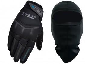 Luva X11 FIT X Feminina Motociclista Com Função Touchscreen + Balaclava