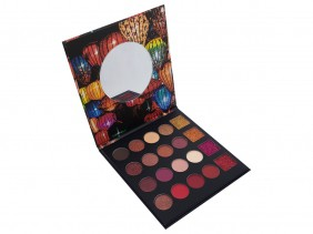 Paleta de Sombras Party Lights Com 20 Cores Make Matte e Cintilante Com Lindas Cores CS2450