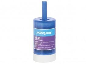 Refil Para Filtro Purificador de Água Multiuso AB40 Rosca Longa Acquabios