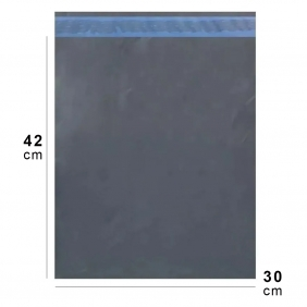 Saco Para Correios Envelope Plástico 30x42cm Embalagem Para E-commerce Com Lacre de Segurança Inviolável