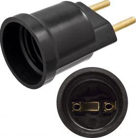 Soquete Porta Lampada Bulbo E27 250V 2 Pinos 10A