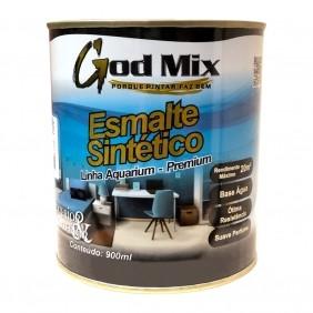 Tinta Esmalte Sintético à Base d'água Linha Aquarium God Mix 900 ml Cores Diversas