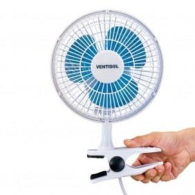 Ventilador de Mesa Ventisol Mini Portátil com 3 Pás 20cm de Diâmetro 127V