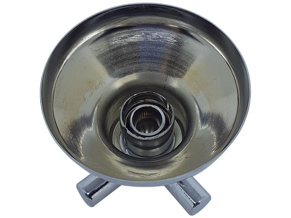 Acabamento Registro Pressão Gaveta Metal e ABS Cromado Padrão Deca C31