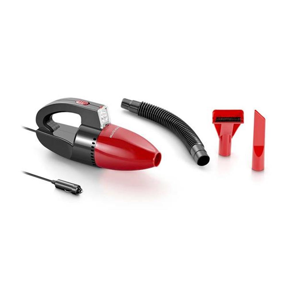 Aspirador de Pó Automotivo Multilaser 1500pa 12v 60w Função Sólido e Líquido Com Mangueira AU607 - Vermelho