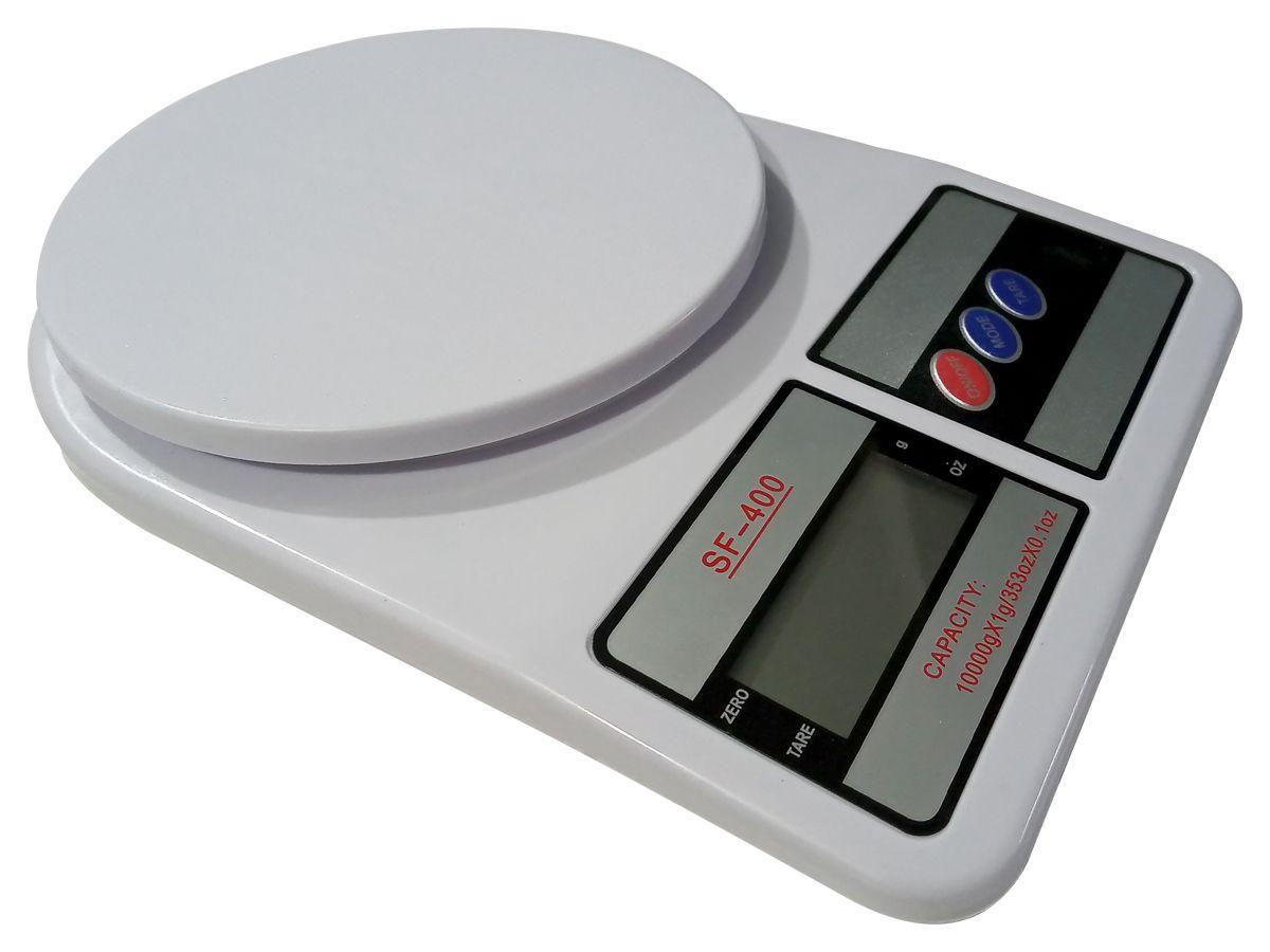 Balança Portátil De Cozinha Alta Precisão Digital 10kg Alimentos Fitness Nutrição Dieta