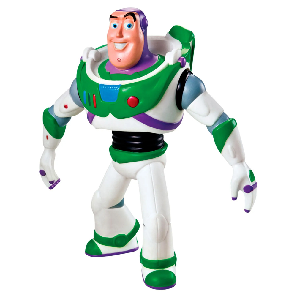 Boneco Buzz Lightyear Toy Story Em Vinil Atóxico Original Licenciado - Líder  - EPM Acessórios