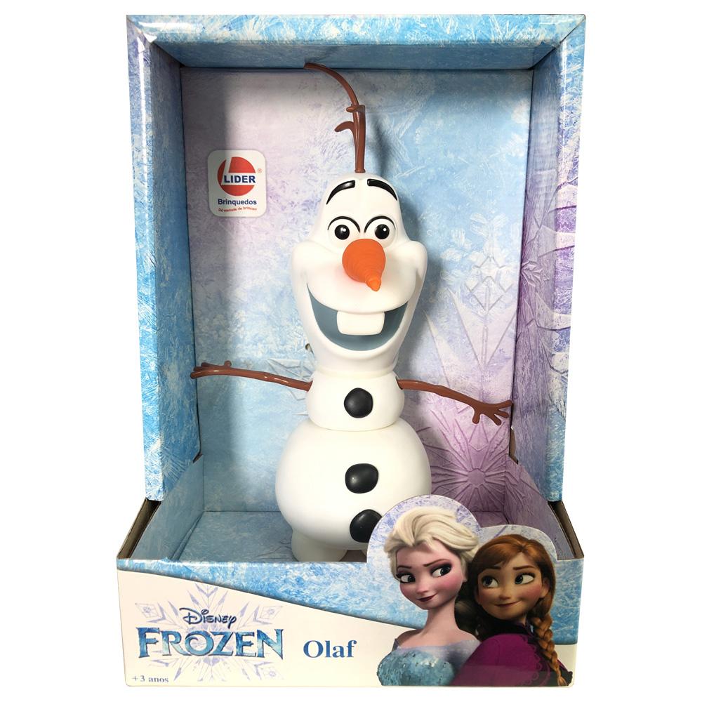Boneco Olaf Frozen Disney Em Vinil Atóxico Original Licenciado - Lider