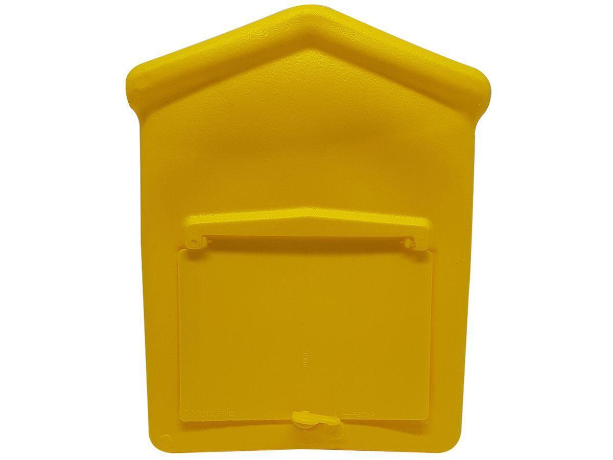 Caixa De Correio Correspondência Pvc 25x20x10cm Plástico
