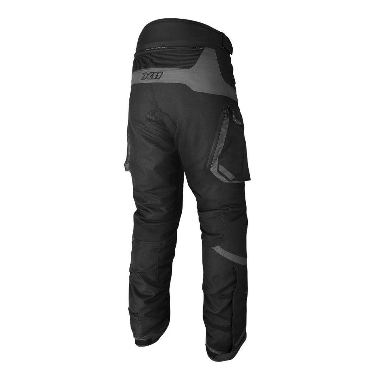 Calça X11 Travel 2 Masculina 100% Impermeável Com Proteção Motociclista  - EPM Acessórios