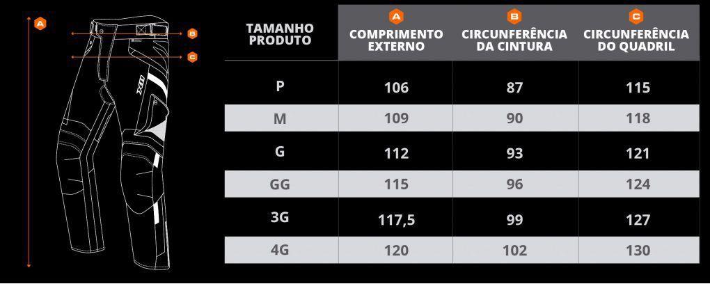Calça X11 Troy 2 Masculina 100% Impermeável Com Proteção Motociclista  - EPM Acessórios