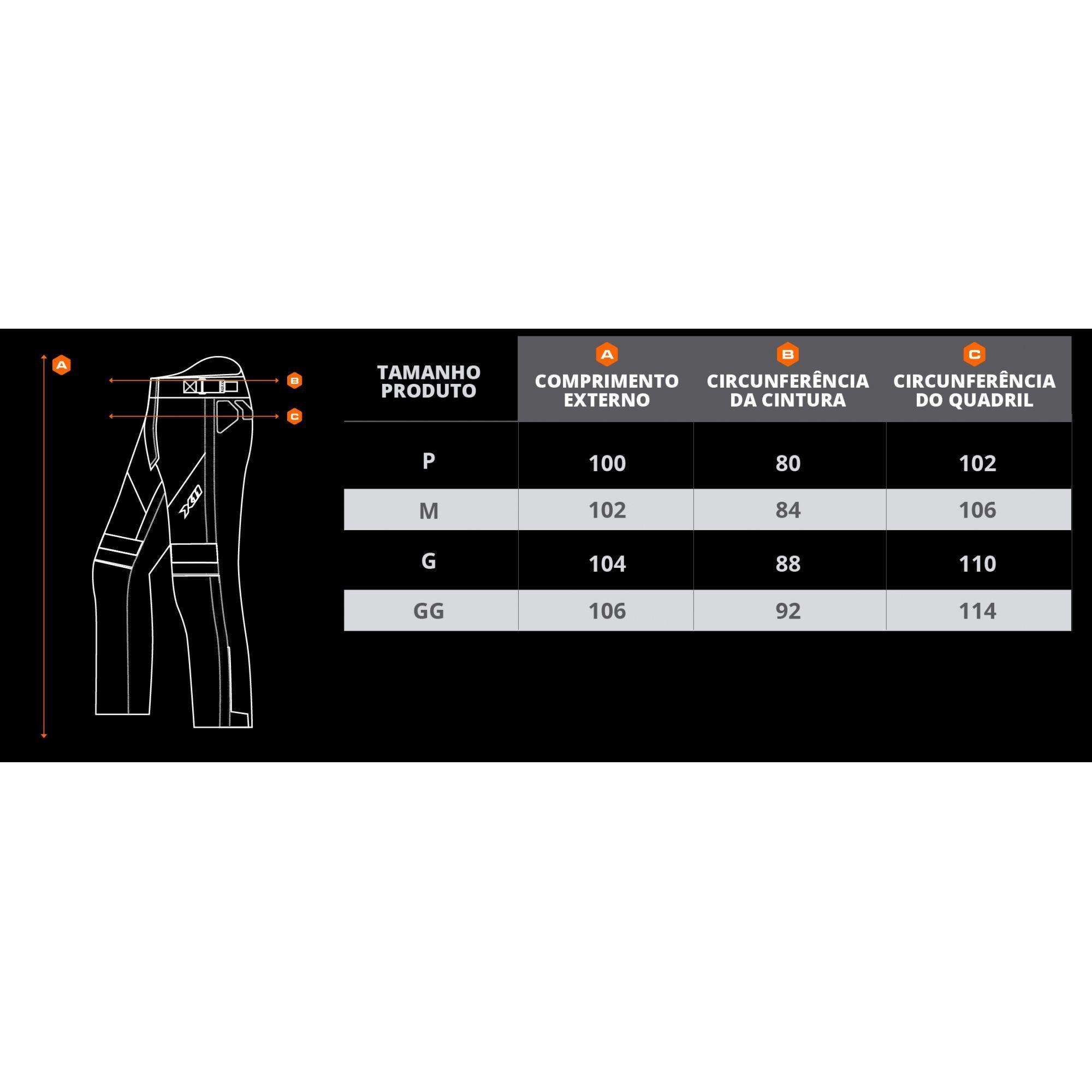 Calça X11 Ultra 2 Feminina Impermeável Com Proteção Motociclista  - EPM Acessórios