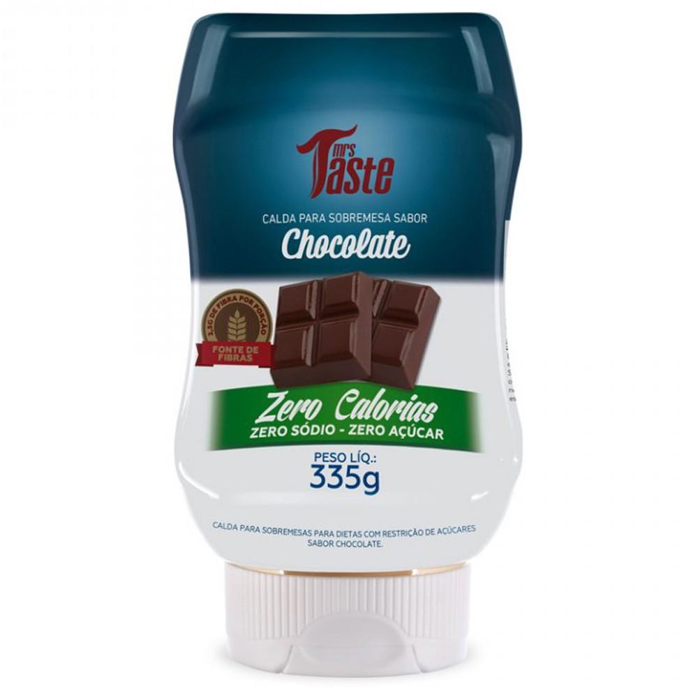 Calda de Chocolate Zero Sódio Zero Açúcar Zero Cal Mrs. Taste 335g
