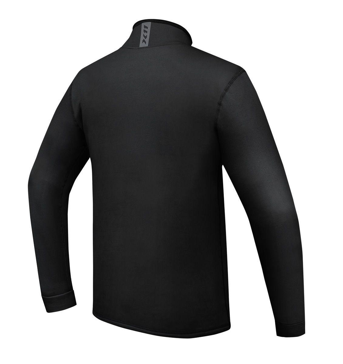 Camiseta Climate 3 X11 Preta Segunda Pele Térmica Motoqueiro Motociclista Ciclista Treino Corrida