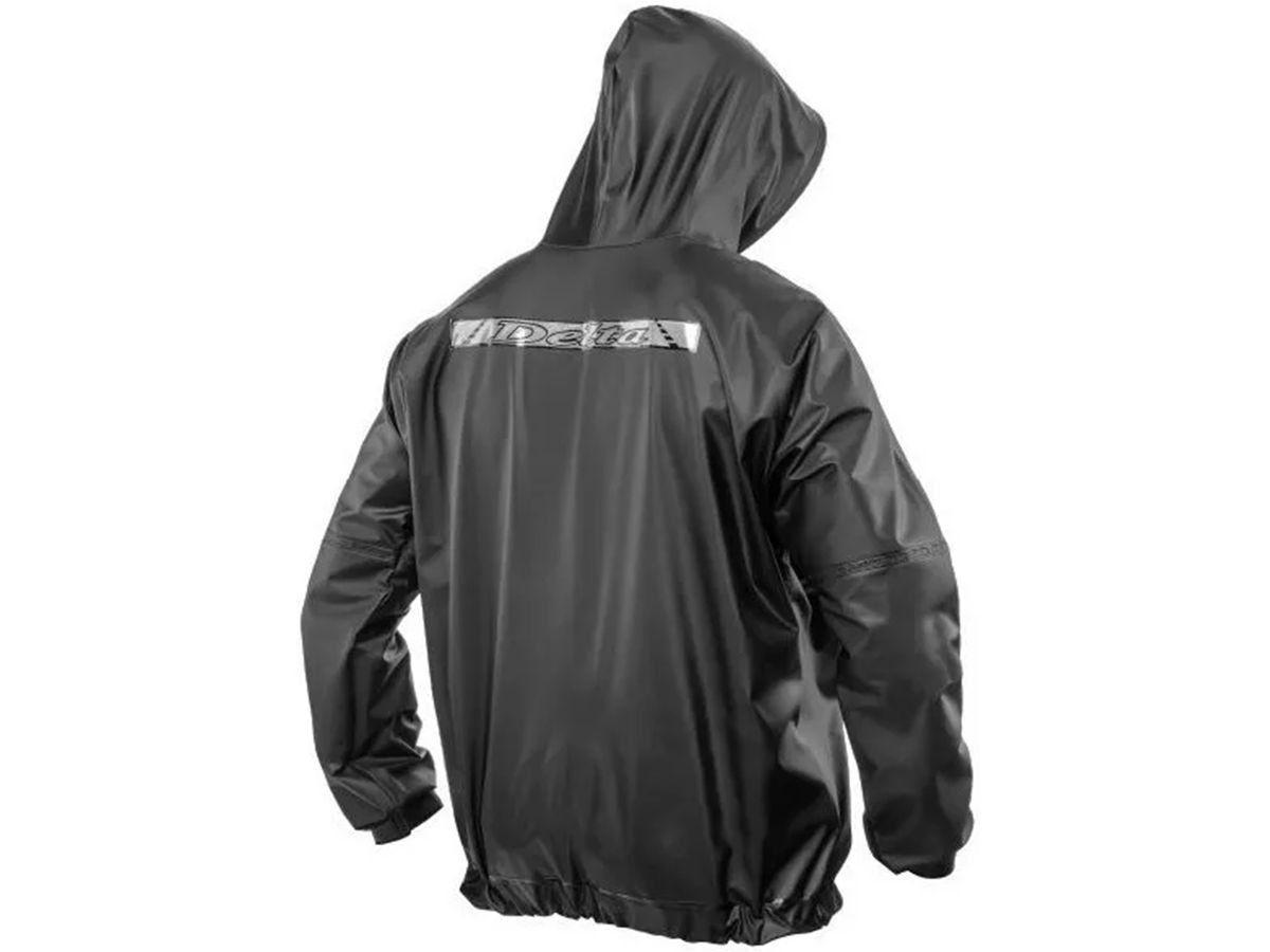 Capa de Chuva Delta Com Capuz PVC Motociclista Motoboy Motoqueiro Ciclista  - EPM Acessórios
