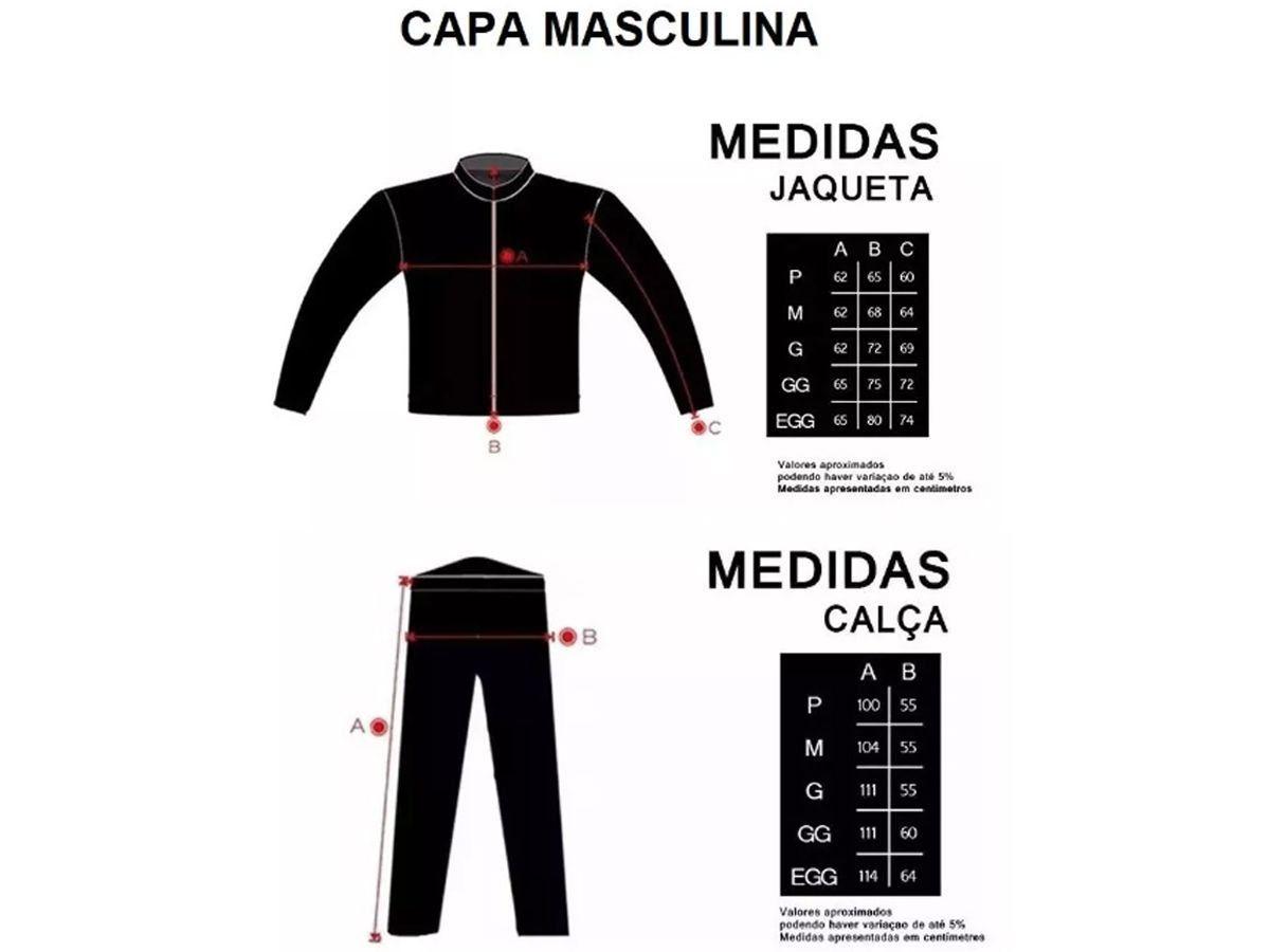 Capa de Chuva Delta Com Capuz PVC Motociclista Motoboy + Balaclava