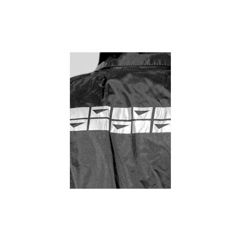Capa de Chuva Delta Nylon 100% Impermeável Motociclista Motoboy Motoqueiro Ciclista