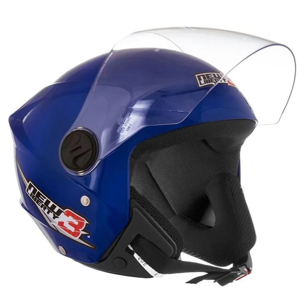 Capacete New Liberty Three 3 Pro Tork Moto Motoqueiro Motoboy Motociclista