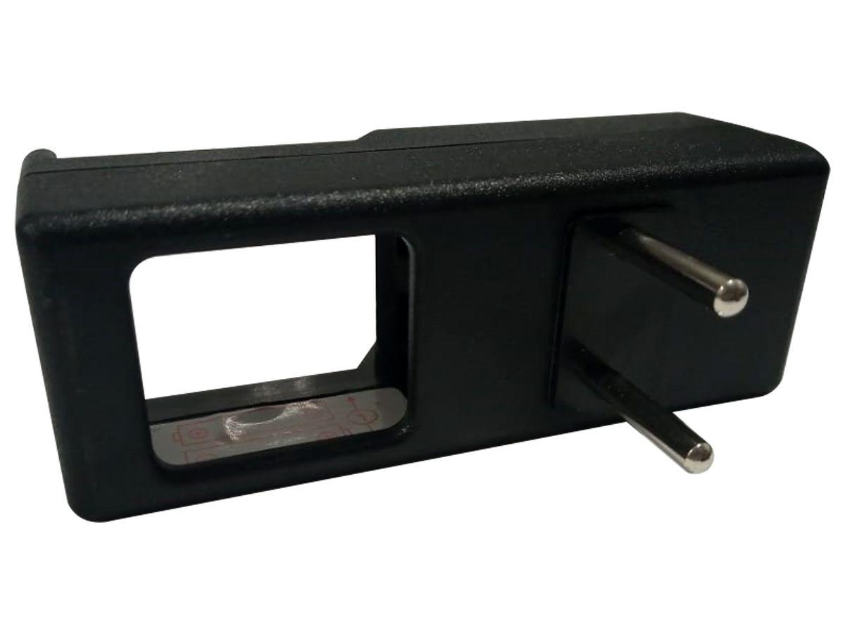 Carregador de Pilha AA para 2 ou 4 pilhas Com Adaptador de Tomadas de Brinde  - EPM Acessórios