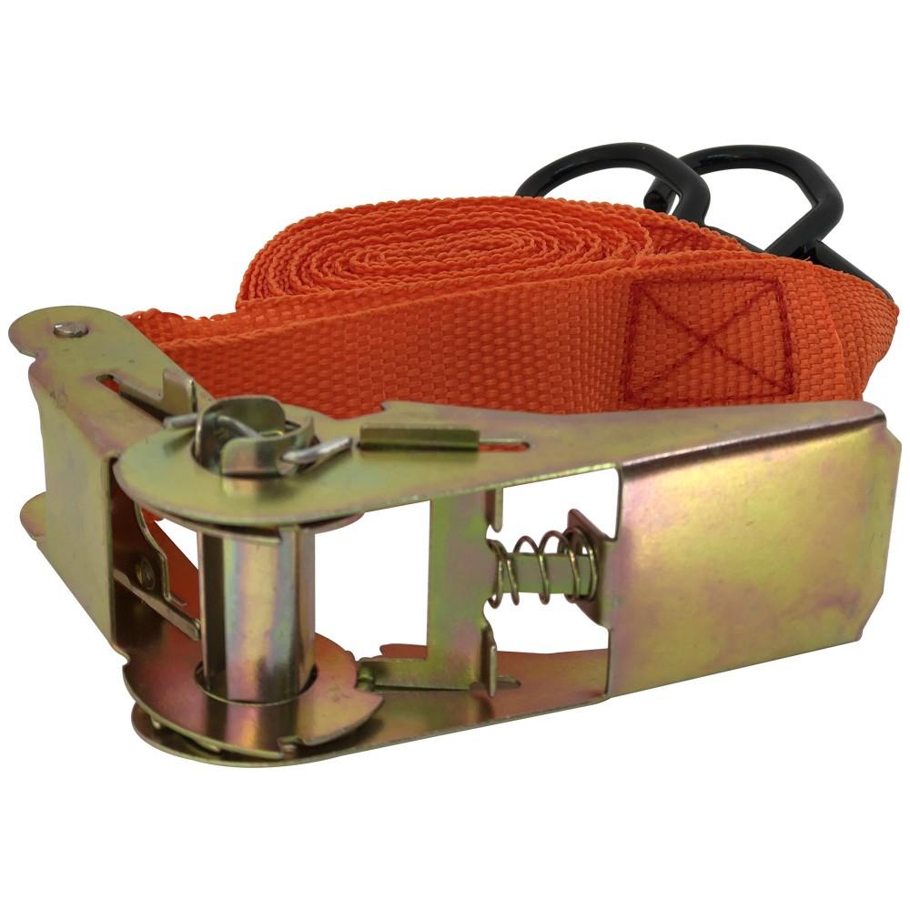 Fita Cinta Para Prender Carga Com Catraca 5 Metros x 25 mm - 150 kg