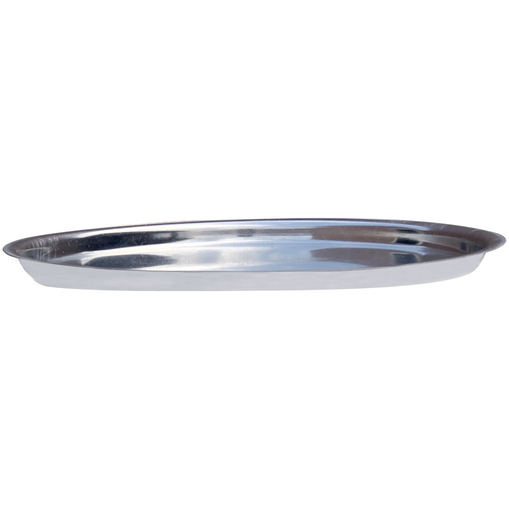 Forma Redonda Para Pizza em Assadeira Alumínio Borda Baixa Reforçada N° 3 Tamanho 35cm