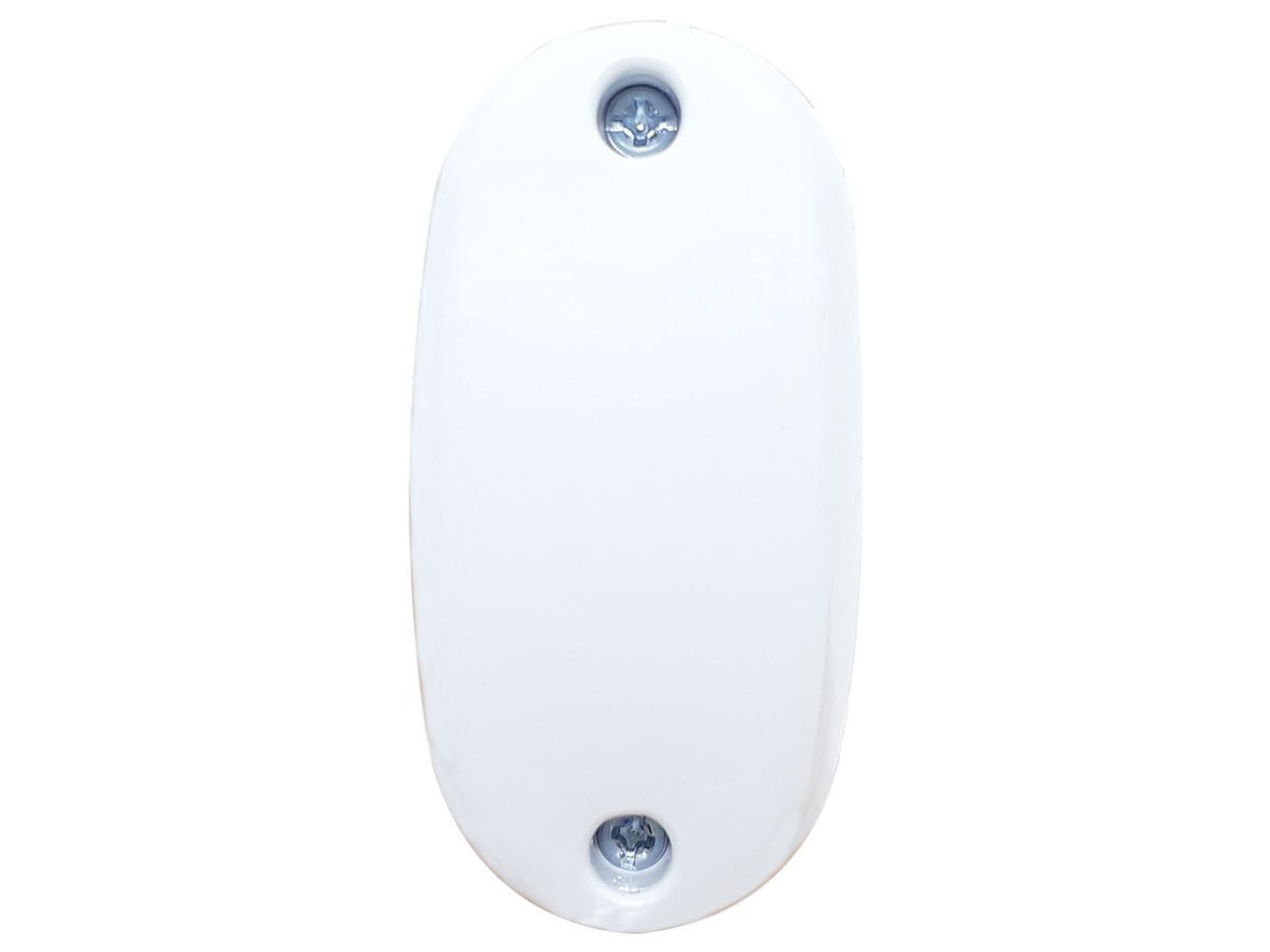 Interruptor Meio Fio Para Abajur e Lustres Simples 1 Tecla Branco Modelo Pera  - EPM Acessórios