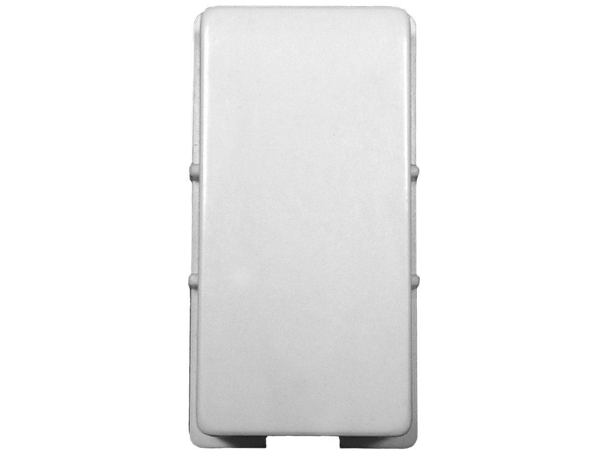 Interruptor Simples 1 Tecla + Tomada 10A 2p+t Com Espelho Branco Linha Dubai Bivolt 127v e 250v