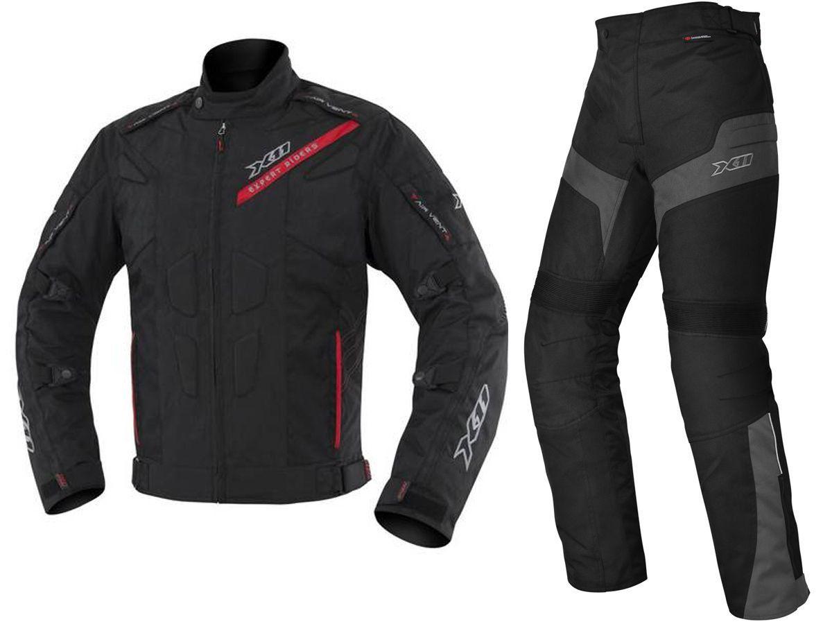 Jaqueta X11 Evo 3 Masculina Impermeável + Calça X11 Ultra 2 Masculina Com Proteção