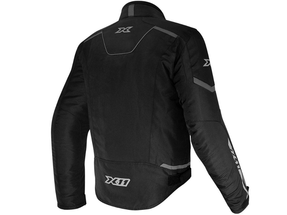 Jaqueta X11 Guard 2 Com Proteção Masculina Preta Motociclista Motoqueiro