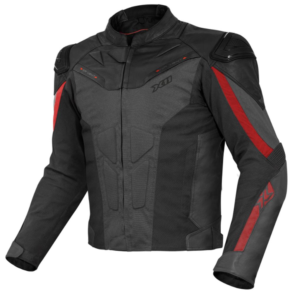 Jaqueta X11 Next Gen Masculina Esportiva Em Couro Impermeável Motociclista Motoqueiro