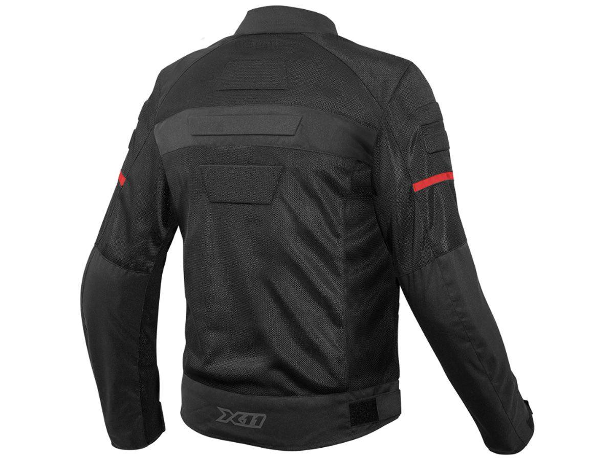 Jaqueta X11 Super Air Com Proteção Masculina Motociclista Motoqueiro  - EPM Acessórios
