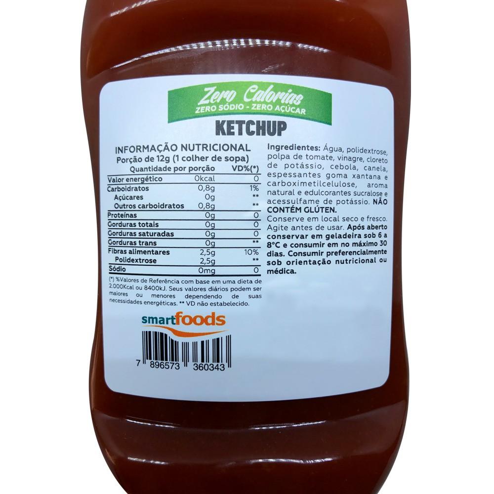 Ketchup Zero Sódio Zero Açúcar Zero Cal Mrs. Taste 350g  - EPM Acessórios