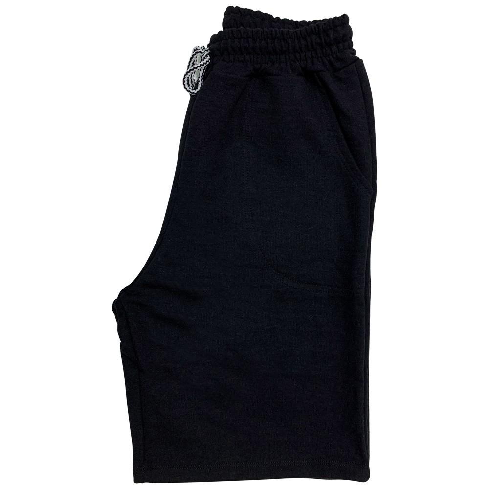 Kit 5 Bermudas de Moletom Masculina Com Elástico e Cordão Ajustável Shorts 5 Cores  - EPM Acessórios