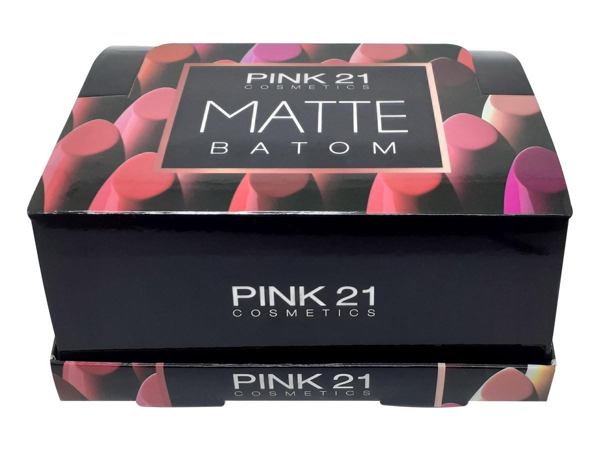 Kit 6 Batom Cremoso Hidratante Não Craquela Ótima Cobertura e Longa Duração Makeup CS2315