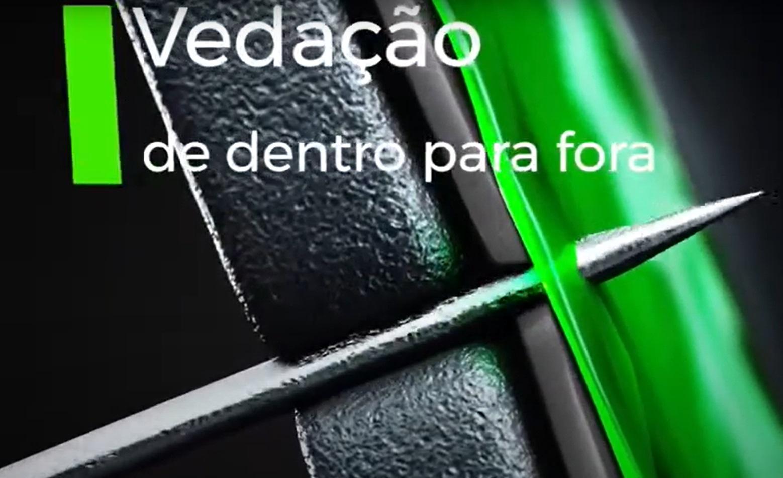 Kit Câmara de Ar Vacinada Moto Pneu 17-110/90 Traseiro + 19-90/90 Dianteiro