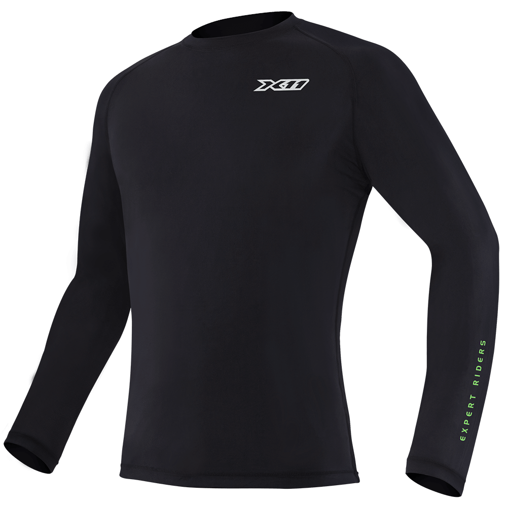 Kit Segunda Pele Camiseta + Calça + Luva Thermic + Meia Thermic + Balaclava X11 Touca Ninja