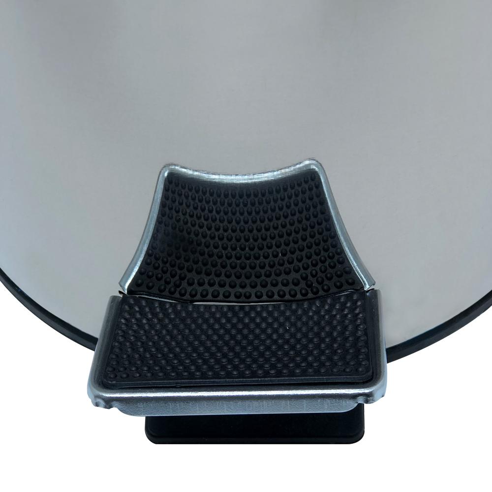 Lixeira em Aço Inox Com Balde Removível Com Tampa e Pedal Capacidade 3 Litros