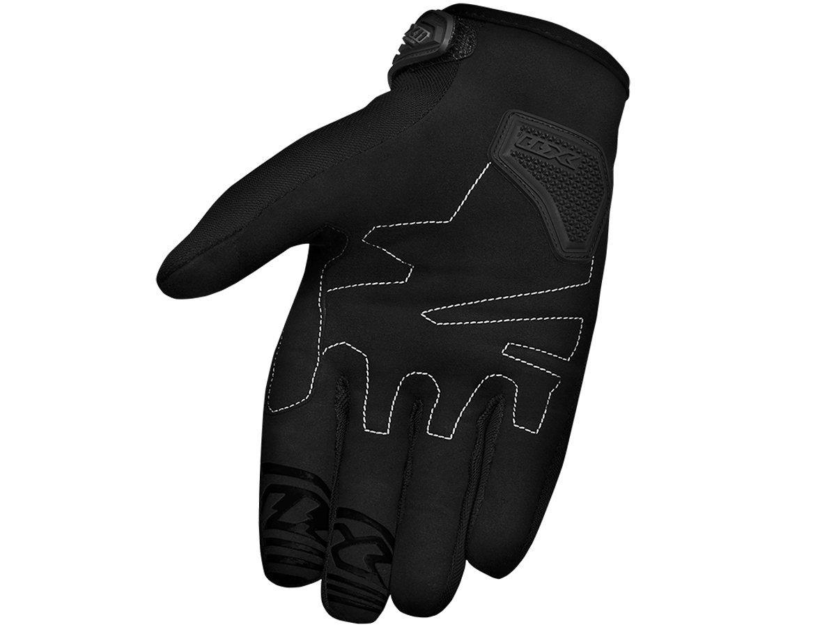 Luva X11 Blackout Feminina Com Proteção Motociclista Ciclista Bike