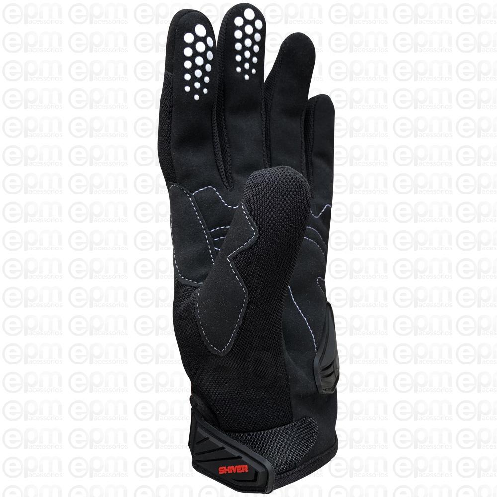 Luva Shiver Dart Unissex Motociclista Motoqueiro Motoboy Ciclista Bike + Touca  - EPM Acessórios