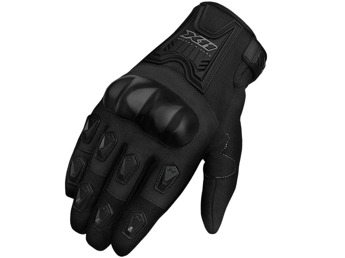 Luva X11 Blackout Com Proteção Com Touchscreen Motociclista + Balaclava