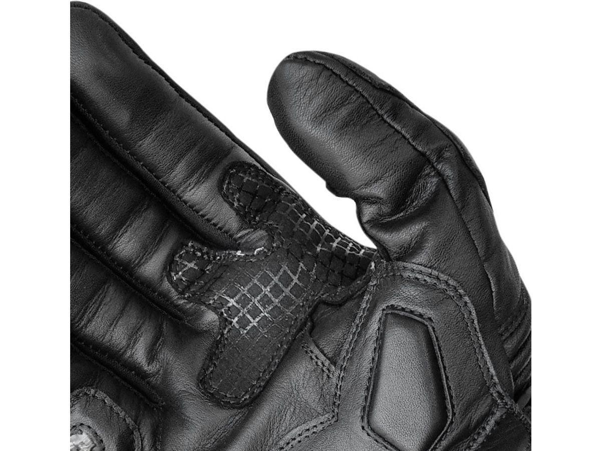Luva X11 Epic Full Leather Cano Longo Em Couro Legítimo Com Proteção