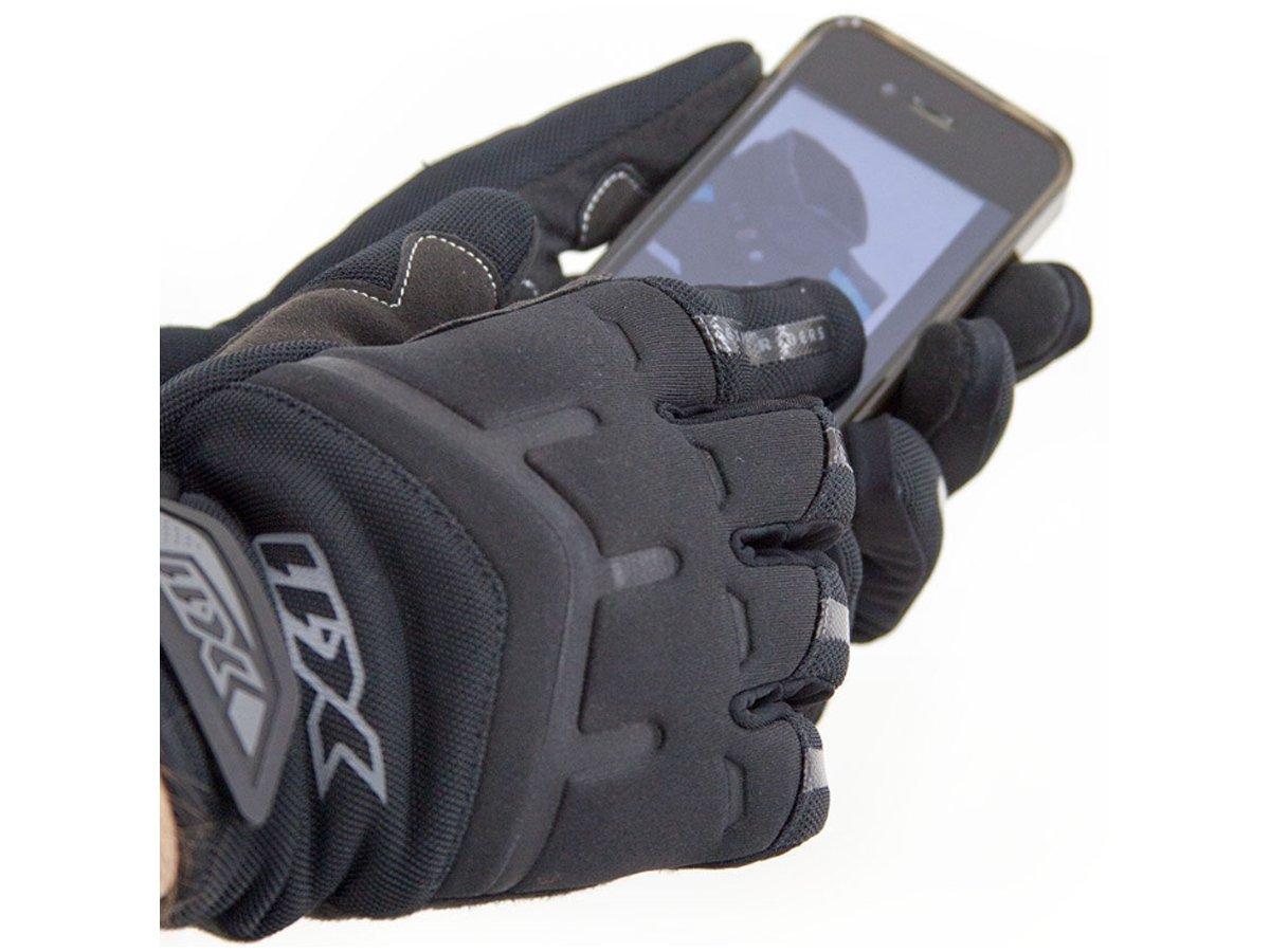 Luva X11 FIT X Feminina Motociclista Com Função Touchscreen + Balaclava  - EPM Acessórios