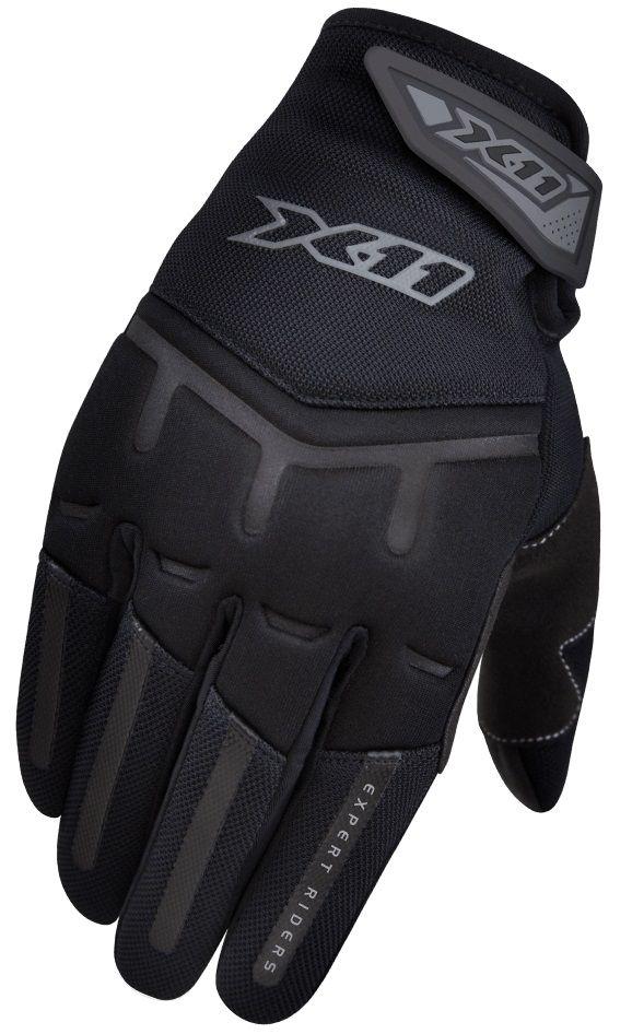 Luva X11 Fit X Preta Motociclista Com Função Touchscreen + Balaclava X11