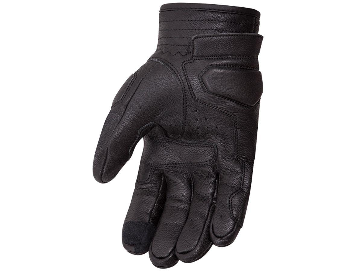 Luva X11 Urban Cano Curto em Jeans e Couro Com Proteção Motociclista Motoqueiro